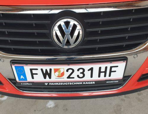 28.02.2020 – Neue FW-Kennzeichen für Feuerwehr St. Lorenzen am Wechsel