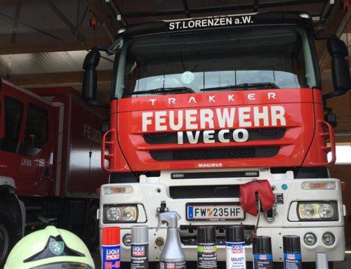 05.10.2020 – LIQUI MOLY unterstützt Feuerwehren