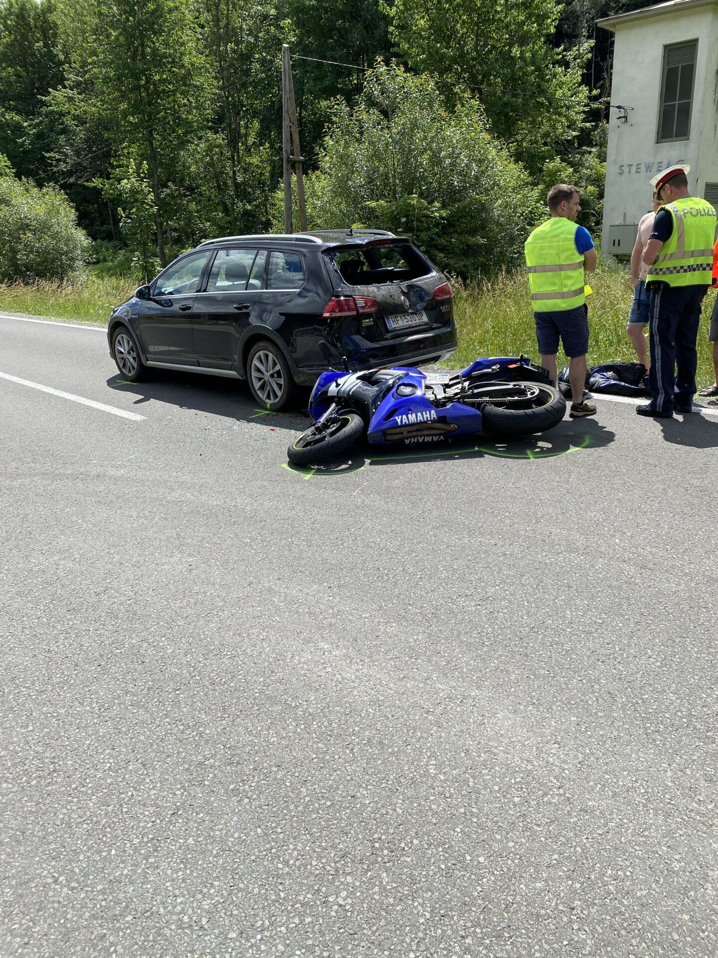 26.06.2021 – Motorradunfall auf der L 416